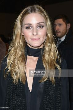Olivia Palermo attends the Giambattista Valli Haute Couture Spring Summer 2016 show as part of Paris Fashion Week on January 25, 2016 in Paris, France.