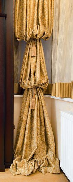 drapery style #SalonsInterija