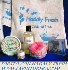 lapinturera - Blog de cosmética, maquillaje y belleza.: Super sorteo VERANO AZUL con HADALY FRESH