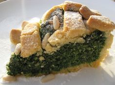 Tuscany's sweet spinach pie is a  dish that's often associated with Easter & spring. Mahalo NPR!