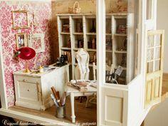 miniature*アトリエ完成 : natural色の生活~handmade家具
