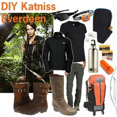 "DIY Katniss Everdeen Halloween costume - you can find it all here at www.fontanasports.com ""Let the Hunger Games begin!"""