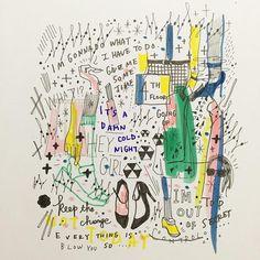 スタバカップに描く絵が可愛い♪イラストレーターShogo SekineのコラボアイテムGU♪SHIPS♪その他♪|マシマロ