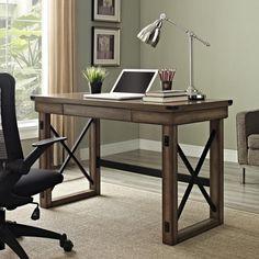 Altra Wildwood Wood Veneer Desk   Overstock.com Shopping - The Best Deals on Desks