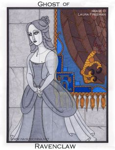 Harry Potter Tarot: Queen of Pentacles by nasubionna.deviantart.com on @deviantART