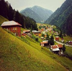 Ayder Plateau, Çamlıhemşin, Rize ⚓ Eastern Blacksea Region of Turkey Beautiful Places To Visit, Wonderful Places, Places To Travel, Places To See, Turkey Destinations, Visit Turkey, Turkey Travel, Landscape Pictures, Dream Vacations