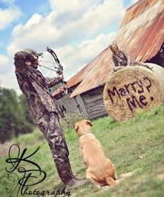 Great way to start a marriage, with an arrow through the head.