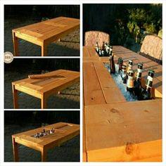 Table Cooler Hideaway