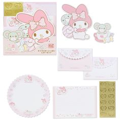 My Melody Round Letter Set