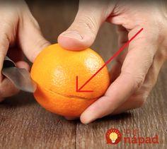 Tento nápad vás určite presvedčí, aby ste šupku z mandarínky nabudúce nevyhadzovali.