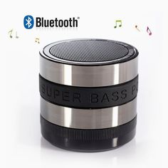 Black Friday 2014 Tagital® Bluetooth Wireless Super Bass Speaker Mini Portable Built-in FM Rechargeable Battery Working for / iPhone / iPad / Samsung / Tablet PC / Laptop Bass, Portable Mini Speaker, Iphone, Hifi Stereo, Mini Camera, Camera Lens, Samsung, Bluetooth Speakers, Bluetooth Gadgets