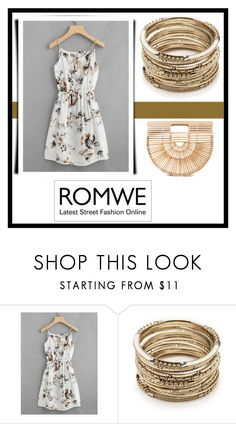 """Romwe"" by aleksandraaleks ❤ liked on Polyvore featuring Sole Society and Cult Gaia"