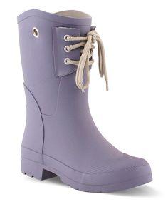 4e35f7b2aab4 Nomad Footwear Purple Kelly B Rain Boot by