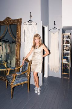 Shareen Mitchell On Turning a Vintage Shop Into a Bridal Label:Shareen Mitchell created her namesake vintage-reworked and -inspired bridal collection with just that woman in mind. | Coveteur.com