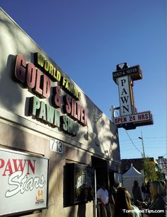 Gold and Silver Pawn Shop from Pawn Stars Las Vegas