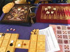 Medieval game boards