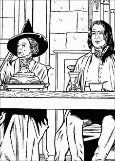 Harry Potter 005 coloring page