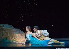 Asuka Sasaki and Francisco Estevez in The Little Mermaid - by Mike Watson