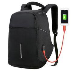 Anti Theft Waterproof Backpack & Laptop Travel Bag With USB Port – blackhouse. Fitness Tracker, Travel Backpack, Travel Bags, Travel Luggage, Fish Flip Flops, Waterproof Laptop Backpack, Anti Theft Backpack, Minimalist Bag, Pumps