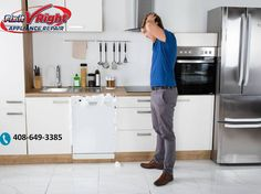 Need refrigerator & washing machine repair service in San Jose California? Work with the appliances repair experts. Appliance Repair, Household, Kitchen Appliances, Modern, San Jose, Refrigerator, Dishwasher, Diy Kitchen Appliances, Home Appliances