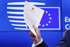 The Juciest Blog in Town: Text - UK letter to EU's Tusk triggering Brexit pr...