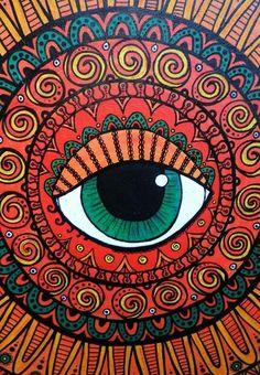 Motorbikes easy mandala drawing, mandala art, hippie drawing, hippie art, h Hippie Drawing, Hippie Painting, Trippy Painting, Hippie Art, Eye Painting, Arte Hippy, Eye Art, Psychedelic Art, Mandala Art