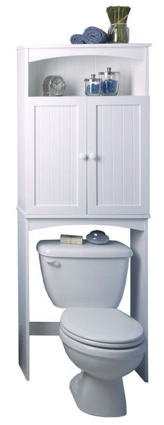 $100ish free standing over-the-toilet storage from wayfair