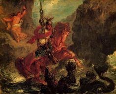 eugene delacroix paintings - Google Search