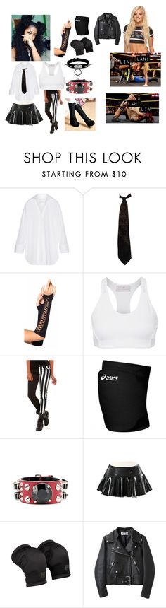 """Lokelani's nxt debut match against Liv Morgan"" by amyblood ❤ liked on Polyvore featuring Marques'Almeida, Moschino, adidas, Royal Bones, Asics, Miu Miu, Acne Studios and WWE"