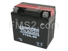 Batteria Yuasa PT YTX5L-BS, 12 Volt - 4 Ah, tipo MF, ricambio 0645049