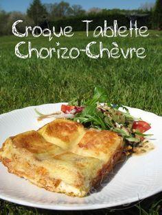 * La recette du Croque Tablette (Jambon Fromage), compte toujours par vos favoris, est-ce que vous allez aussi adopter le Chorizo Chèvre? Une recette familiale parfait pour un premier déjeuner dans...