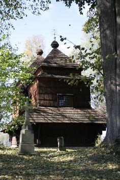 The old chapel in Smolnik, Bieszczady Mountains, Poland