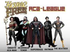 Home Free Super Heroes