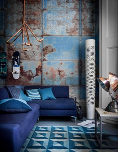 Stunning inspiration on the blue scale...Inspired!