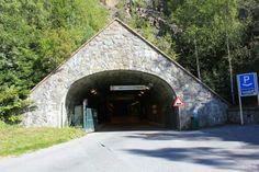 Inngangen til Spiralen i Drammen.