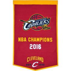 Cleveland Cavaliers Banner 24x36 Wool Dynasty #ClevelandCavaliers
