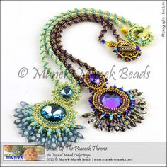 Jewel Of The Peacock Throne by The Manek Lady, via Flickr