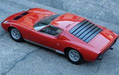 Lamborghini Miura 1970s Rear Window Louvres Maintenance of old vehicles: the material for new cogs/casters/gears could be cast polyamide which I (Cast polyamide) can produce