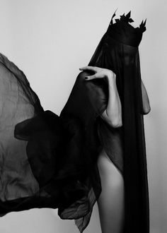 Woman / Black and White Photography Photographie Art Corps, Portraits, Dark Photography, Foto Pose, Dark Beauty, Our Lady, Dark Art, Dark Side, Character Inspiration