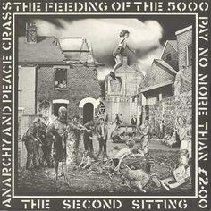 Crass, The Feeding of the 5000 LP, Crass, UK, 1978. Design: Gee Vaucher. Source: The Art of Punk
