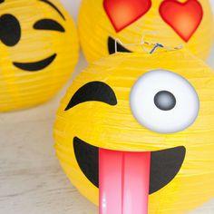 DIY: Lanternas de emojis , Decor,