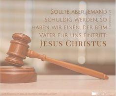 Nachzulesen auf BibleServer | 1. Johannes 2,1