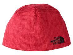 6df3530a88e The North Face Kids Bones Beanie (Big Kids) (TNF Red TNF Black