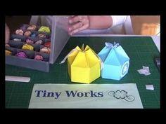 Tutorial Box Esagonale in cm Shabby Chic, Container, Scrapbooking, Box, Snare Drum, Scrapbooks, Memory Books, Scrapbook, Kleding