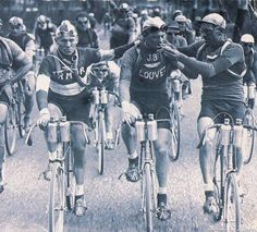 how times have changed - lighting up on the tour de france
