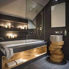 Стеклянная перегородка в ванную комнату от steklaspb.ru