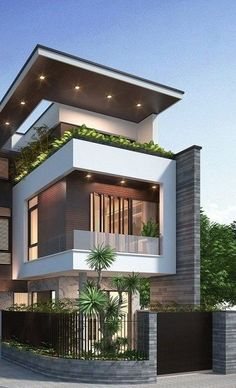 House Design Ideas Modern Modern Exterior Design Ideas Luxury Home Facade House 50 Stunning Modern Home Exterior Designs That Have Awesome 15 Modern House Design Ideas Updated 2019 Minimalist House Design, Modern House Design, Modern Minimalist, Minimalist Interior, Best House Designs, Contemporary Design, Simple House Design, Contemporary Houses, Modern Architecture House