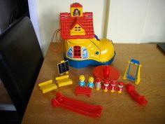 Matchbox School Boot Shaped School Furniture Figures 1980's Vintage Toy | eBay