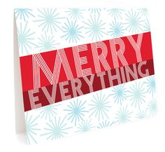 Stars and Stripes - folded holiday cards - eco-friendly made in the usa