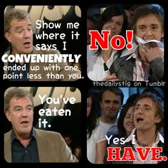 Richard Hammond. There he is ladies and gentleman, lets give him around of applause...